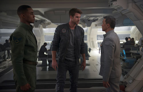 Dylan and Jake and their commander
