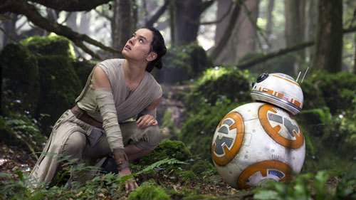 Daisy as Rey with BB