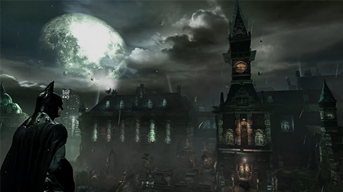 Arkham Asylum may have weaker graphics than expected but it's not an ugly game.
