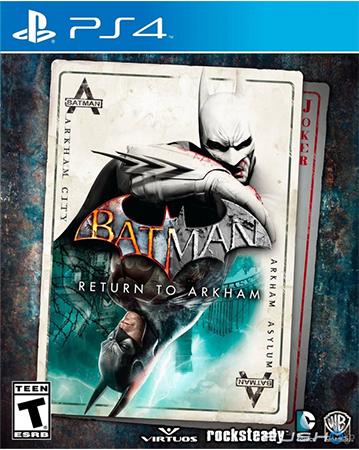 Batman: Return To Arkham Cover Art