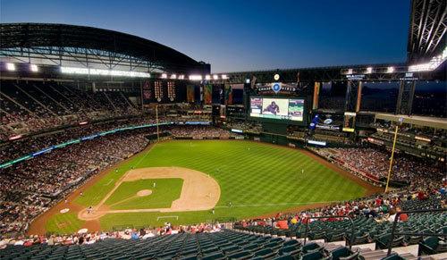 Chase Field is home of the Arizona Diamondbacks