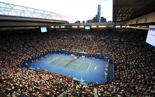 Rod Laver Arena hosts the Australian Open
