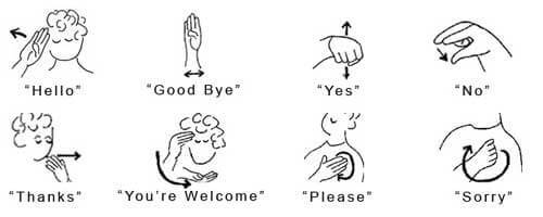 Asl sign for homework