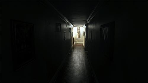 The menacing hallway of P.T.