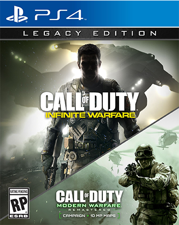Call of Duty: Infinite Warfare Legacy Edition PS4 Box Art