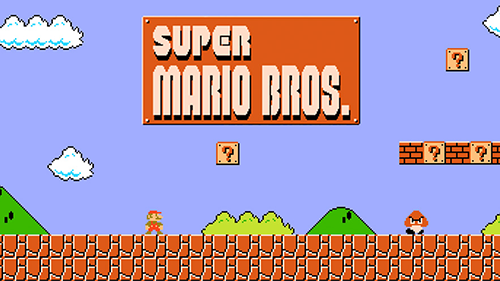 The original Super Mario Bros is playable on the NES: Classic Edition.