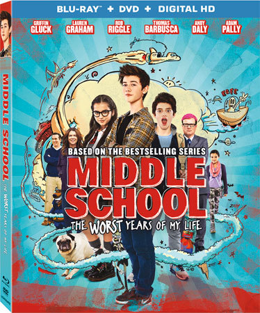 Middle School: The Worst Years of My Life Blu-ray cover