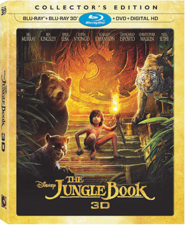 The Jungle Book Collector's Edition Blu-ray Cover