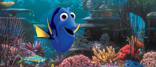 Feature finding dory feat