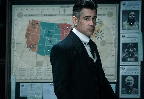 Head Security Auror Graves (Colin Farrell)