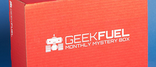 Check out November's subscription from Geek Fuel!