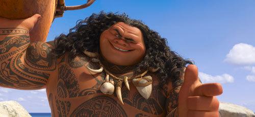 Dwayne Johnson voices demi-god Maui