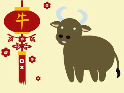 Chinese Zodiac Year of The Ox