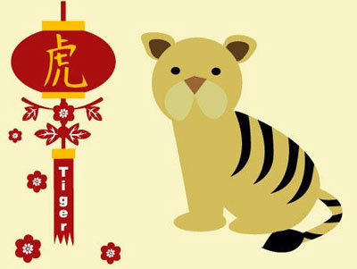 Chinese Zodiac Year of The Tiger