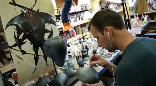 Laika filmmaker works on Beetle's armor