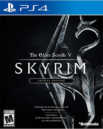 Skyrim: Special Edition Cover Art