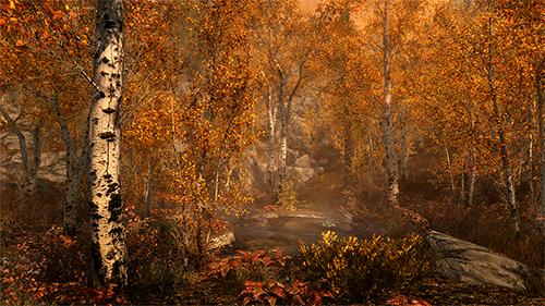 Lighting has definitely seen improvements since the original release of Skyim.