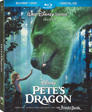 Pete's Dragon Blu-ray Cover