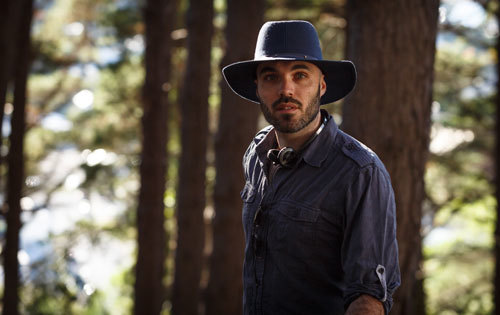 Director David Lowery on location in New Zealand