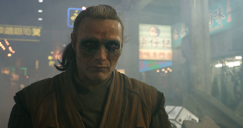 Mads Mikkelsen as Kaecilius