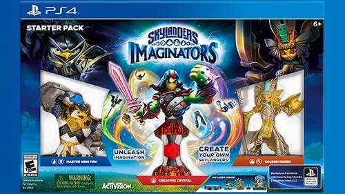 Skylanders Imaginators Box Art
