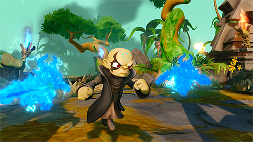 Kaos returns to threaten the Skylands, once again as a playable character!
