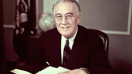 Franklin D. Roosevelt was the 32nd President of the United States