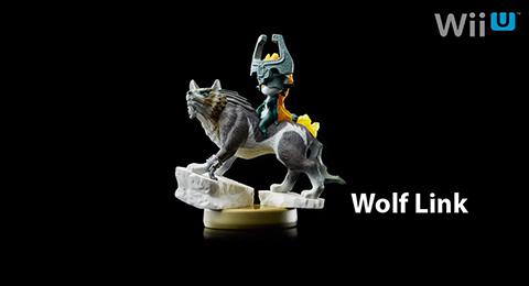The new Wolf Link amiibo! So pretty.