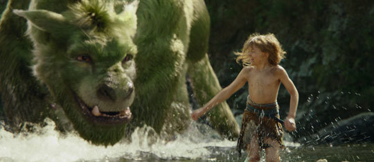 Pete's Dragon Exclusive Bonus Clip | Action Sequence with Kids