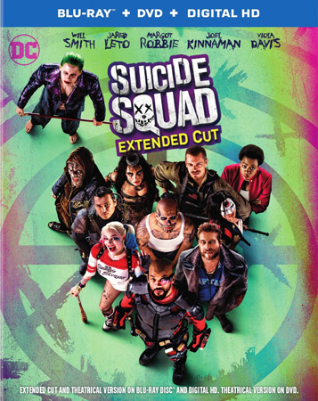 Suicide Squad: Extended Cut Blu-ray Cover