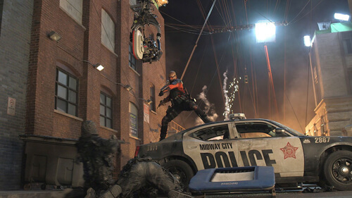 Will as Deadshot does his thing