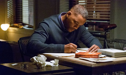 Howard (Will Smith) writes letters to Death, Time and Love