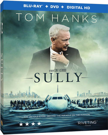 Sully Blu-ray Cover