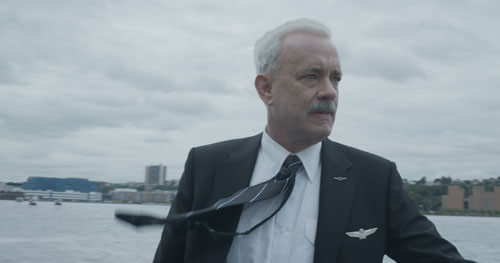 Sully on the Hudson River after the crash