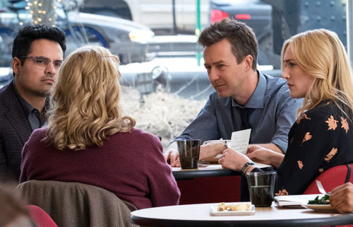 Simon, Whit and Claire talk with the private detective