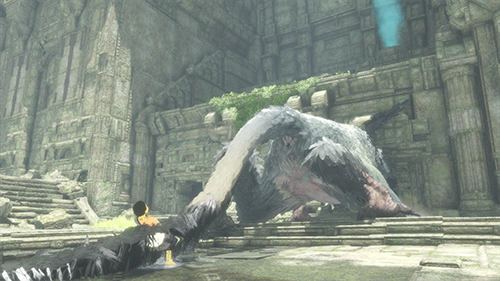 Much like Trico, the game often feels like it doesn't want to listen to you.