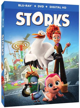 Storks Blu-ray cover art