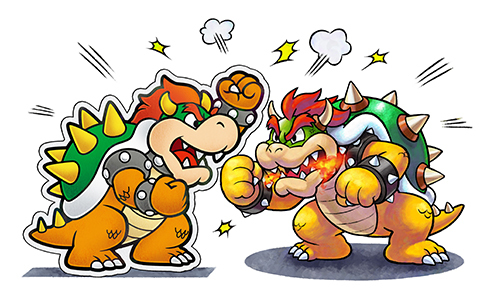 Two Bowsers... Uh-Oh!