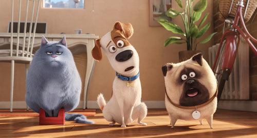 Chloe, Max and Mel get a load of huge Duke