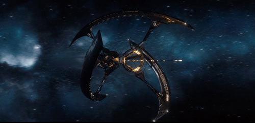 The giant starship Avalon