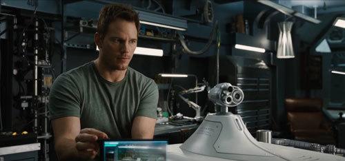 Jim builds a robot to impress Aurora