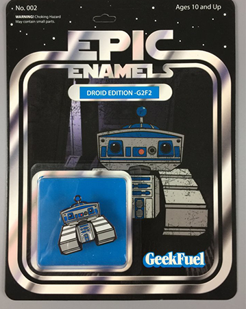 Geek Fuel's Star Wars Themed Pin.