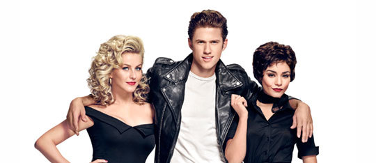 Grease: Live Cast Interview