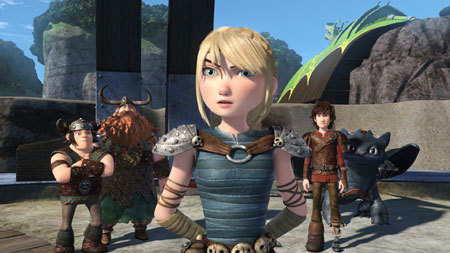 DreamWorks Animation Dragons Race To The Edge