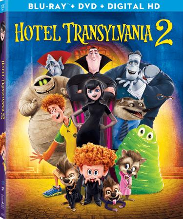 Hotel Transylvania 2 Blu-ray Cover
