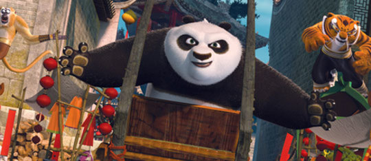 Feature kunf fu panda tiger feat
