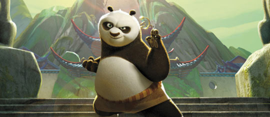 Kung Fu Panda Exclusive Clip | Mash-Up of Awesomeness: Slo-Mo