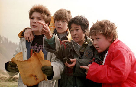 Data from The Goonies