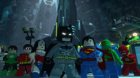 Batman and the Justice League.