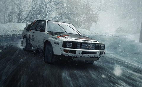 Race in the snow, the rain, on dirt and gravel.